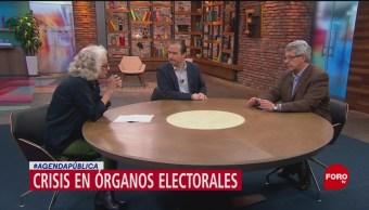 Foto: Agenda Pública: Crisis en órganos electorales, 27 enero 2019