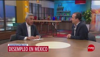 Foto: Agenda Pública: Datos del desempleo en México, 27 enero 2019