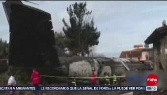 Al menos 15 muertos en accidente de avión en Irán