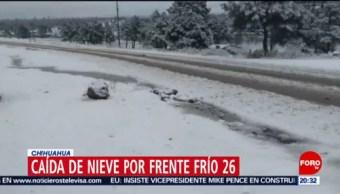 Alerta Amarilla En Chihuahua Por Frío Clima