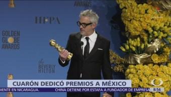 Alfonso Cuarón gana Globo de Oro como mejor director, por 'Roma'
