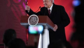 Foto: El presidente de México, Andrés Manuel López Obrador, en conferencia de prensa, 31 enero 2019