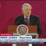 AMLO afirma que la economía de México crecerá 2% en 2019