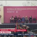 AMLO anuncia un millón de Tandas para el Bienestar