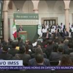 AMLO difunde el Plan Nacional del IMSS