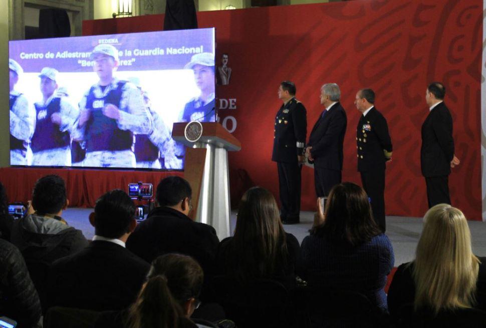 AMLO convoca a jóvenes a formar parte de la Guardia Nacional
