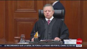 Arturo Zaldívar confirma reducción de salarios para ministros de SCJN