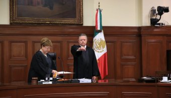 Arturo Zaldívar es electo ministro presidente de la SCJN