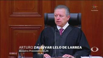 Arturo Zaldívar Es Elegido Como Presidente De La Scjn, Arturo Zaldívar, Presidente De La Scjn, Ministro Arturo Zaldívar, Suprema Corte De Justicia De La Nación