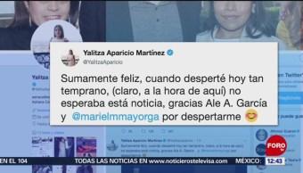 Así celebró Yalitza Aparicio su nominación a los Premios Oscar