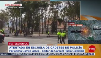 Atentado en escuela de policía en Colombia trae viejos recuerdos