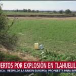 Aumenta a 118 la cifra de muertos por explosión en Tlahuelilpan