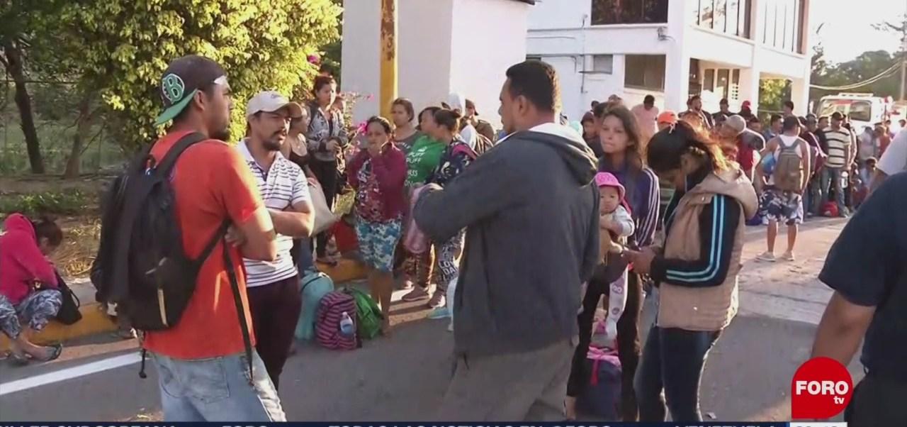 Avanza Caravana Migrante Hondureños Por Oaxaca