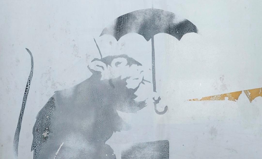 Hallazgo de un posible Banksy moviliza al Gobierno de Tokio
