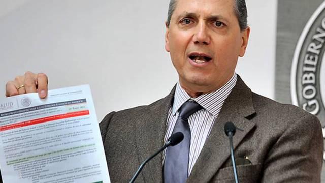 Detienen a exsecretario de Salud de Sonora, Bernardo Campillo