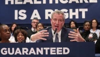 Nueva York planea garantizar atención médica universal
