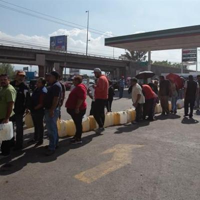 Bloqueos en CDMX, Estado de México y Guanajuato por desabasto de gasolina