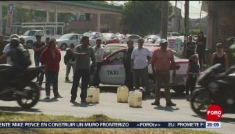 Bloqueos Por Falta Gasolina En Cdmx