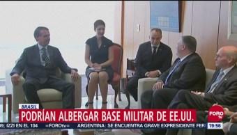 Bolsonaro Contemplaría Construir Base Militar De Eeuu En Brasil, Presidente, Jair Bolsonaro, Construir Base Militar, Eeuu, Brasil, Base Militar De Estados Unidos