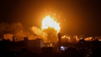 Israel bombardea objetivos de Hamas en Gaza