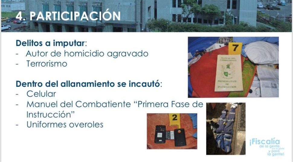 Capturan a presunto autor intelectual de atentado en Bogotá