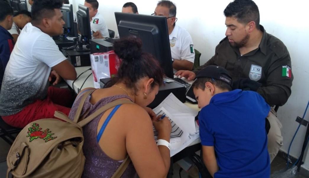 Así fueron recibidos los primeros 969 centroamericanos de la nueva caravana en Chiapas