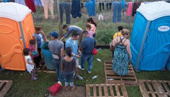 migrantes centroamericanos llegan san pedro tapanatepec, oaxaca