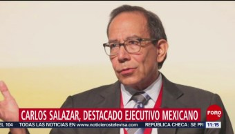 Carlos Salazar Lomelín, ejecutivo mexicano reconocido a nivel mundial