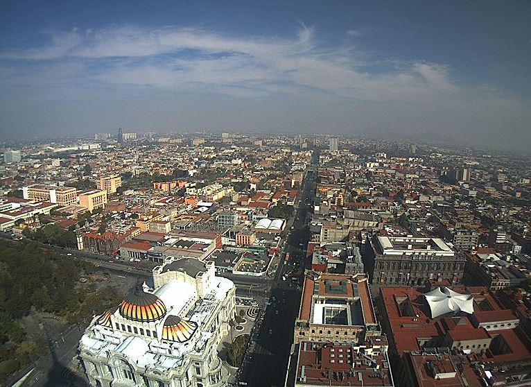 FOTO: Panorámica de la Ciudad de México