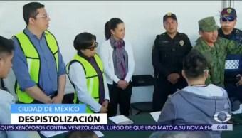 CDMX mantiene programa de desarme voluntario