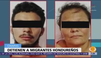 Chiapas detiene a 3 hondureños de caravana migrante por fraude