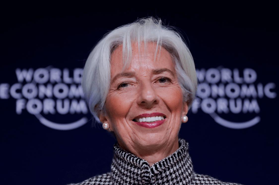 Christine Lagarde, directora del FMI. (AP)