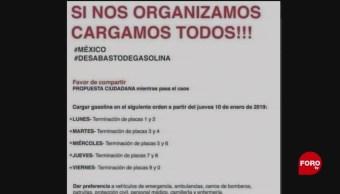 Ciudadanos Proponen Calendario Para Cargar Gasolina En México, Ciudadanos, Proponen Calendario, Cargar Gasolina En México, Redes Sociales