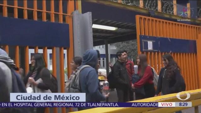 Clases en Preparatoria 2 de la UNAM se normalizan