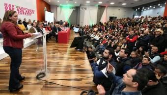 Presidenta del PRI pide al Gobierno dejar de dividir a los mexicanos