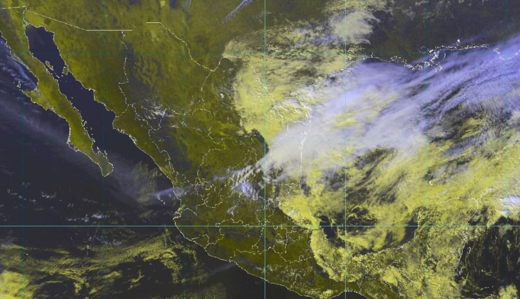 Foto: Autoridades de Conagua muestra con un diseño a computadora las condiciones de fenómenos extremos en la República Mexicana, enero 26 de 2019 (Twitter: @conagua_clima)