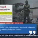 Colectivo 'Seguridad Sin Guerra' Pide Morena No Usar Nombre