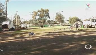 Comienzan Labores De Limpieza En Deportivo Benito Juárez En Tijuana, Labores De Limpieza En Deportivo Benito Juárez, Tijuana,