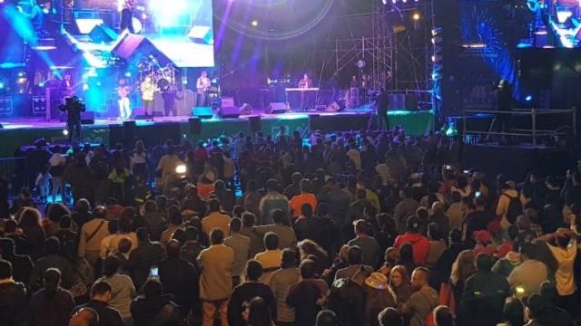 Año Nuevo reúne a 70 mil personas en concierto CDMX