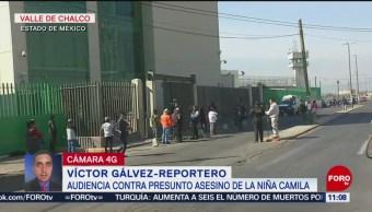 Continúa audiencia del presunto agresor de una menor en Valle de Chalco
