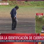 Continúa la búsqueda de desaparecidos en Tlahuelilpan, Hidalgo