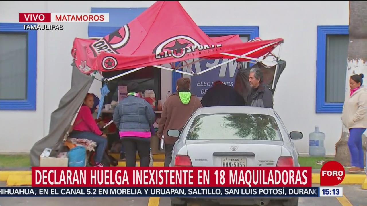 Foto: Continua la incertidumbre en maquiladoras de Tamaulipas