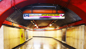 FOTO Mujer logra huir a intento de secuestro en Metro CDMX 30 enero 2019