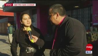 #CotorreandoconlaBanda: 'El Repor' afuera del metro San Cosme