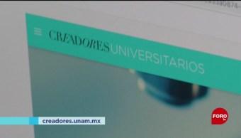 FOTO: Creadores Universitarios lanza página web, 26 enero 2019