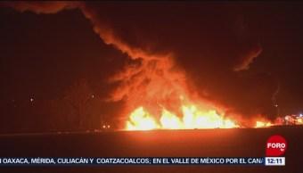 Cronología de la explosión en Tlahualilpan, Hidalgo