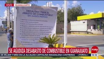 Decálogo para abasto de combustible en gasolineras de Guanajuato