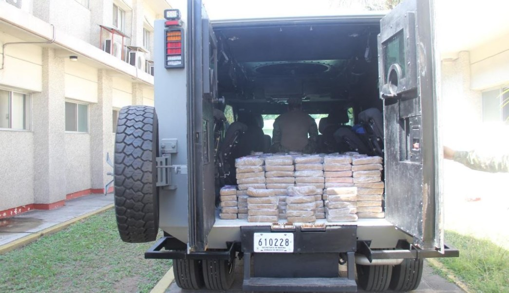 Foto: Aseguran 537 kilos de cocaína frente a costas de Michoacán, el 28 de enero 2019