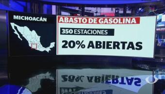Desabasto Gasolina Continúa Guanajuato Michoacán Edomex Jalisco