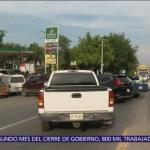 Desabasto de gasolina continúa en seis estados de México